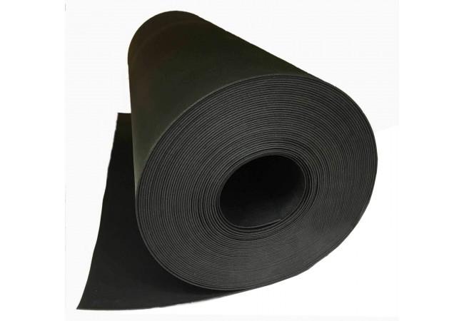 Изолон 2 мм черный, ширина 75 см