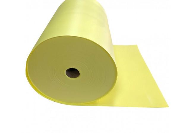 Изолон 2 мм лимонный, ширина 75 см