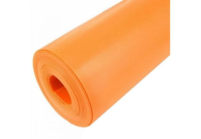 Изолон 2 мм ораньжевый, ширина 75 см