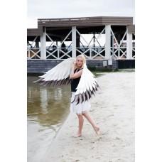 """№07 Крылья """"АИСТ"""" Крылья ангела в бело-коричневой гамме"""