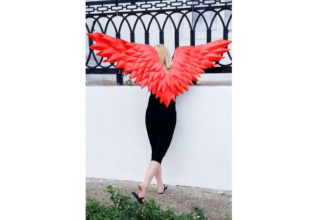 Крылья красные «ТЕРЕЗА»