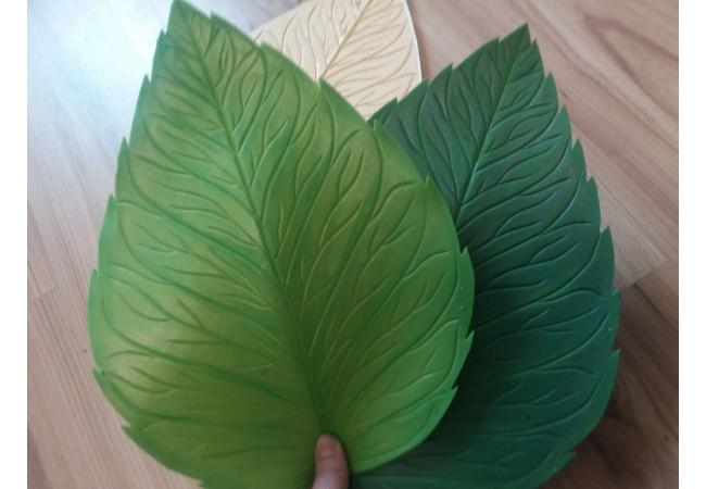 Молд лист реалистичный 30х22.5 см