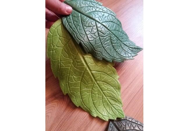 Молд лист Георгина 23.5х13 см