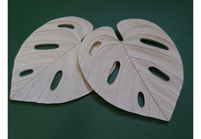 Молд лист Монстеры 31×27,5см