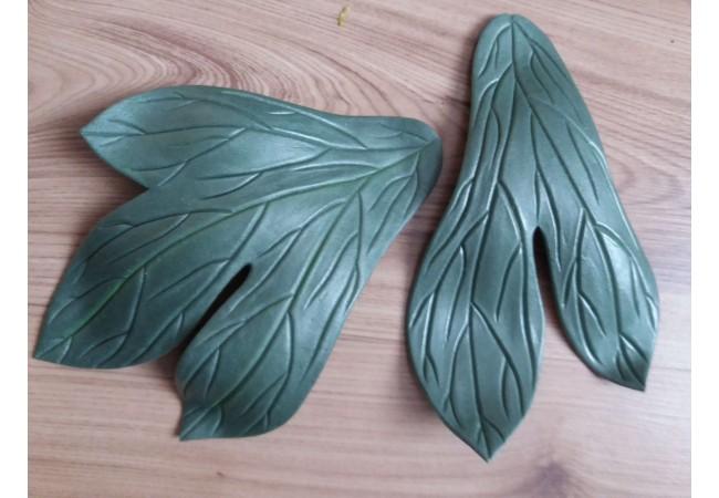 Молды комплект листья Пиона 20х15см и 20х12см