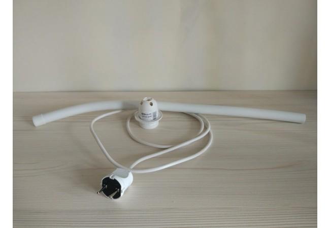 Набор для светильника / кабель с вилкой 1,5м, патрон Е14, труба D 16 L60 см