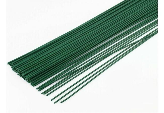 Проволока 0,7 мм  флористическая зеленая