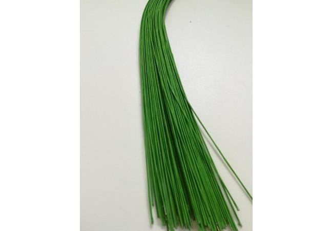 Проволока флористическая, светло - зеленый (1,2 мм * 60 см)