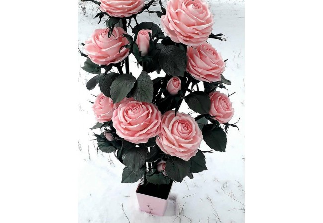 Торшер кустовая роза 8